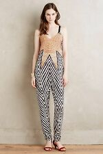 MARA HOFFMAN STARBASKET LOW BACK BEACH JUMPSUIT XSMALL