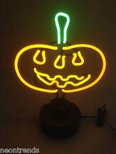 Kürbis Neonleuchte Pumpkin sign Neonreklame Neon signs Leuchte Halloween news