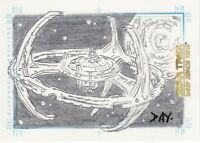 Quotable Star Trek Deep Space Nine DS9 Dan Day Deep Space Nine Sketch Card