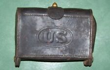 1904 ROCK ISLAND ARSENAL MCKEEVER, NAMED AMMO POUCH ( EXPERIMENTAL ? )