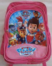 BNWT PAW PATROL GIRLS BACKPACK SCHOOL BAG - LARGE