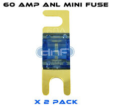 DNF (2 PACK) ANL MINI FUSE 60 AMP - FREE SAME DAY SHIPPING!