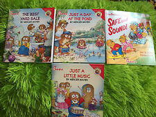 Lot (4) Children's Books-Little Critters By Mercer Mayer-- Family & Growing Up