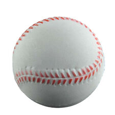 Baseball Hand Wrist Exercise Stress Relief Relaxation Squeeze Soft Foam Ball TO