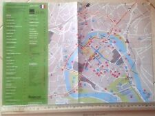Sheet City and Road Map of Besancon in France