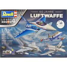 REVELL 1:72 05797 LUFTWAFFE 60 YEAR SET INC TYPHOON, PHANTOM, TORNADO & F-10