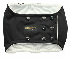 MEDIUM - POPPERS DOG BELLY BAND NAPPY - WATERPROOF + 2 WASHABLE PADS - BLACK