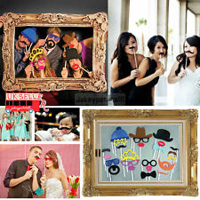 Photo Booth Large Picture Frame & 24PCS photo props Hen Do Party/Stag Night/Self