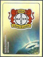 PANINI UEFA CHAMPIONS LEAGUE 2011-12- #311-BAYER 04 LEVERKUSEN TEAM BADGE-FOIL