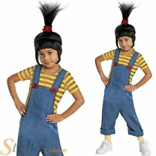 Girls Despicable Me Agnes Minion Outfit Halloween Child Fancy Dress Costume