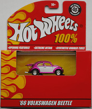 Hot Wheels 100% - VW Käfer Custom pinkmet./weiß Neu/OVP
