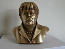 ORIGINAL German Politician & leader CDU Angela Merkel bust H=14cm 2014