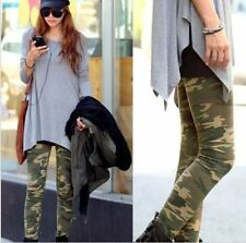 New Fashion Camouflage Womens Sexy Skinny Print Leggings Stretch Jeggings Pants