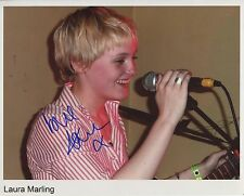 Laura Marling Signed 8 x 10 Photo Genuine In Person