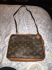 Louis Vuitton Vintage Monogram Shoulder Handbag*GREAT SHAPE FOR ITS AGE*