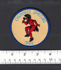 Cherokee Uprising Indian Dancing 1966 Embroidered Patch...#124R