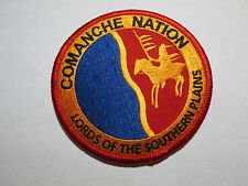 COMANCHE NATION PATCH NATIVE AMERICAN POCKET PATCH RARE MERROWED EDGE