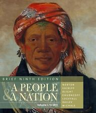 A People and a Nation Vol. 1 : History of the United States by Carol Sheriff,...