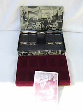 "ZIPPO  ""We Remember....."" 1994 Collector's Tin with 10 Plastic ZIPPO Cases MIB"