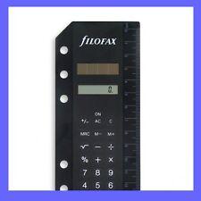 Filofax Black Mini & Pocket Calculator Insert- 214005