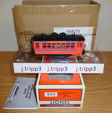LIONEL 58275 LAUREL LINE L&WV LACKAWANNA WYOMING TROLLEY O GAUGE TRAIN MOTORIZED
