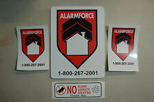 alarm force Yard Sign & 2 stickers + bonus SECURITY SURVEILLANCE  property home