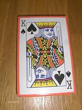 NEW JUMBO PLAYING CARDS 9cm BY 13.5cm GREAT FOR CHILDREN