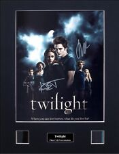 Twilight Signed by 2 Ver5 Photo Film Cell Presentation