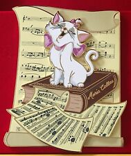 MARIE ARISTOCATS MUSIC DISNEY PIN ACME ARCHIVE ARTIST SERIES LITHO JUMBO LE 100