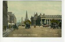 AK Edinburgh, Scotland, Princess Street looking East, 1920