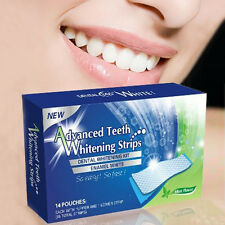 28 X Teeth Whitening Strips Home Professional Tooth Rapid Bleaching Strips