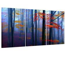 3panel Home Decor Colorful Forest Unframed Canvas Print Wall Art Picture