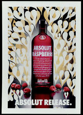 cartolina pubblicitaria PROMOCARD n.5851 ABSOLUT  RELEASE VODKA collection n.317