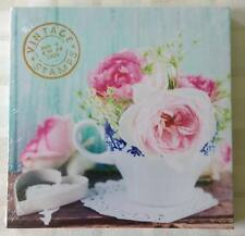 Pretty Flowers In Tea Cup Wall Art Canvas Picture ~ Vintage/Shabby Chic Kitchen