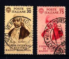 ITALIA - Regno - 1934 - 1° Congresso elettro-biologia (Galvani) -
