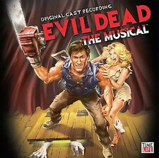 EVIL DEAD: THE MUSICAL CD SOUNDTRACK NEW SEALED Horror