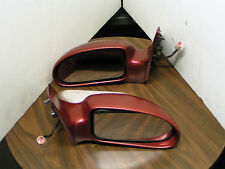 2000 FORD FOCUS FACTORY PAINTED POWER MIRROR ASSY - FULLY FUNCTIONAL - SET OF 2