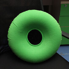 Inflatable Rubber Ring Round Donut Cushion Hemorrhoid Pillow Medical Seat + Pump