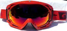 NEW $130 Carrera Mens Kimerick Reload Red winter snow ski Goggles Fire Glow Lens
