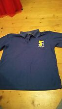 boys Coombe Dean school PE polo shirt size small