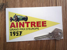 AINTREE GRAND PRIX 1957 classic car motorcycle stickers