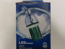 NEW- Memowell SH1026BN 7 LED Color Changing Showerhead