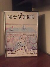 NEW YORKER Magazine 1976 View of the World From Ninth Ave Saul Steinberg Poster