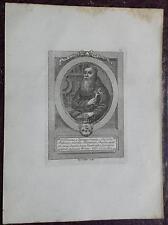 """1850 Ritratto di """"P. Diego da Quiroga, Cappuccino della Provincia di Castiglia"""""""