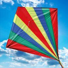 Brookite Kite singola linea dell' ombra per bambini Rainbow Aquilone Dimensioni 79 x 76 cm
