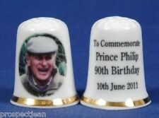 Prince Philip 90th B/day 'Exclusive' China Thimble B/52