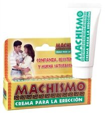 MACHISMO CREMA PARA LA ERECCIO N .5 OZ TUBE LUBRICANT Enjoy thick throbbing NEW
