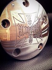 west coast choppers point cover 5 holes jesse james  harley twin cam