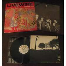 LIVE WIRE - Changes Made LP New Wave Rock 1981 W/innersleeve