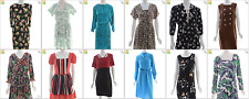 JOB LOT OF 31 VINTAGE DRESSES - Mix of Era's, styles and sizes (18953)*